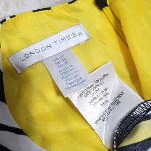 Sz 10 Dress London Times Stretch Sleeveless